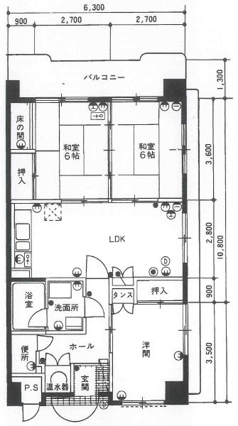 清川マンション/リノベーションプラン